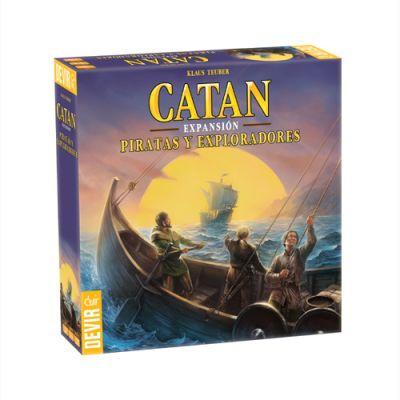 Catán: Piratas y Exploradores