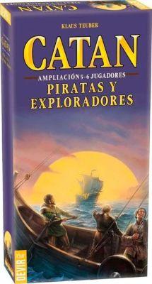 Catán: Piratas y Exploradores Ampliación 5 y 6 Jugadores