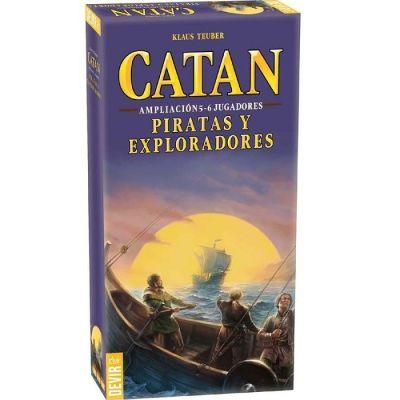 Catan: Piratas y Exploradores Ampliación 5 y 6 Jugadores