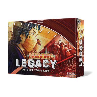Pandemic Legacy Primera Temporada - Roja