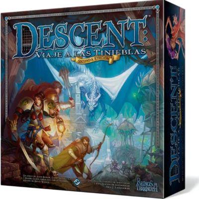 Descent 2ª Edición: Viaje a las Tinieblas - Juego de Tablero
