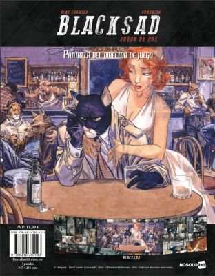 Blacksad - Pantalla del Director