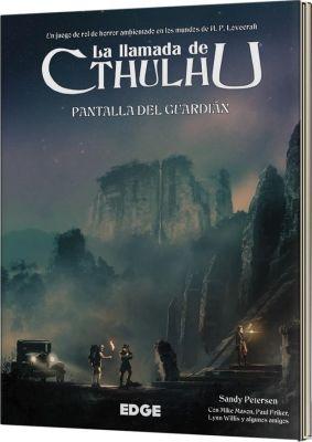 La Llamada de Cthulhu: Pantalla del Guardián 7ª Ed. - Juego de Rol