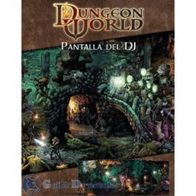 Dungeon World  - Pantalla del Director de Juego