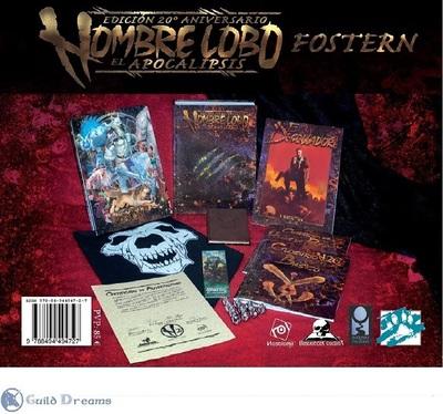 Hombre Lobo El Apocalipsis Ed. 20° Aniversario - Fostern