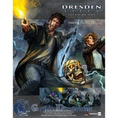 The Dresden Files - Pantalla del Director de Juego