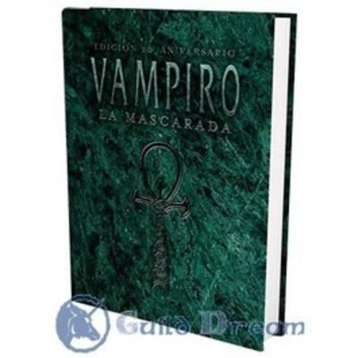 Vampiro: La Mascarada Edición 20° Aniversario - Libro Básico