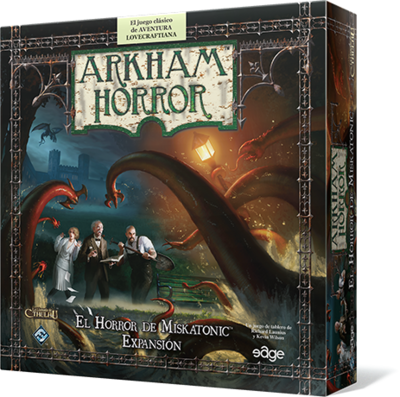 Arkham Horror - El Horror de Miskatonic