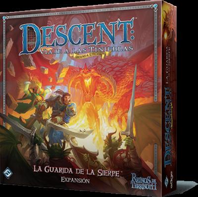 Descent 2ª Edición: La Guarida de la Sierpe