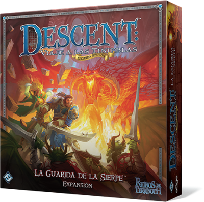 Descent 2ª Edición: La Guarida de la Sierpe
