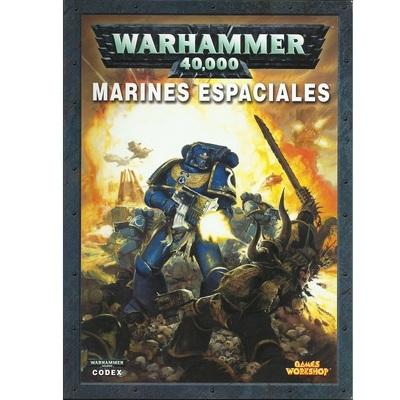 Warhammer 40,000: Codex Marines Espaciales (Tapa Blanda)