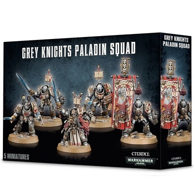 Warhammer 40,000: Grey Knights Paladin Squad