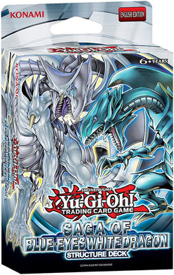 Saga of Blue Eyes White Dragon - Structure Deck