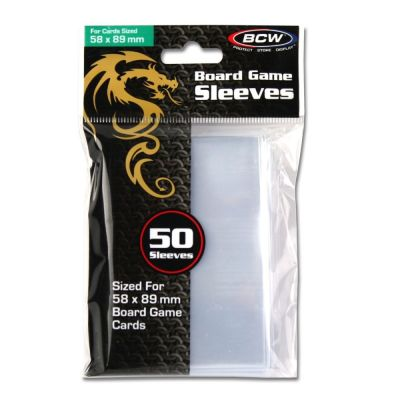 Board Game Sleeves Standard Chimera - 58 x 89mm.