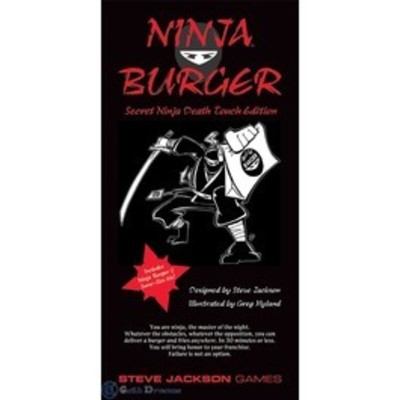 Ninja Burger Secret Ninja Death Touch Edition