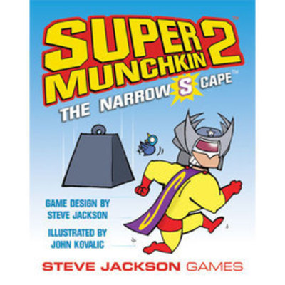 Super Munchkin 2 - The Narrow S Cape