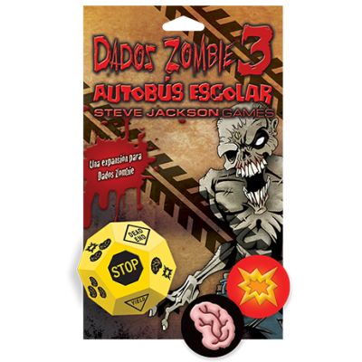 Dados Zombie 3: Autobús Escolar Expansión