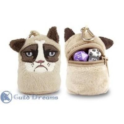 Porta Dados Plush Grumpy Cat