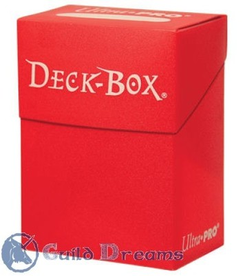 Caja Porta Mazo Roja