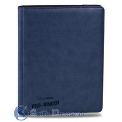 Carpeta 9 Bolsillos Premium Pro Binder - Azul 20 Hojas