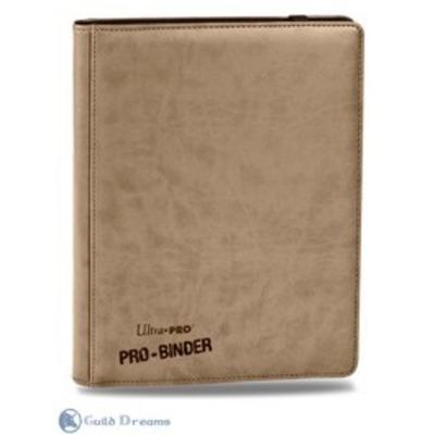 Carpeta 9 Bolsillos Premium Pro Binder - Blanco 20 Hojas