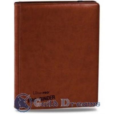 Carpeta 9 Bolsillos Premium Pro Binder - Café 20 Hojas