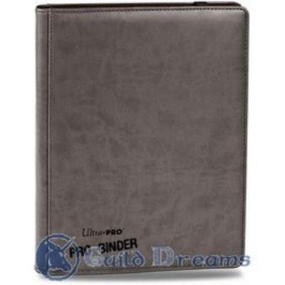 Carpeta 9 Bolsillos Premium Pro Binder - Gris 20 Hojas