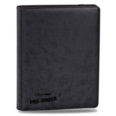 Carpeta 9 Bolsillos Premium Pro Binder - Negra 20 Hojas
