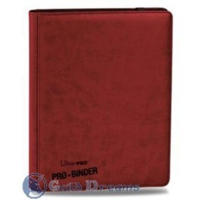 Carpeta 9 Bolsillos Premium Pro Binder - Roja 20 Hojas