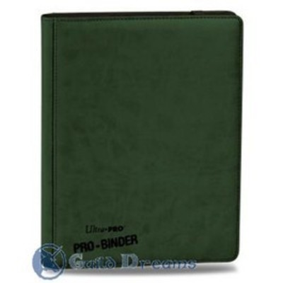 Carpeta 9 Bolsillos Premium Pro Binder - Verde 20 Hojas