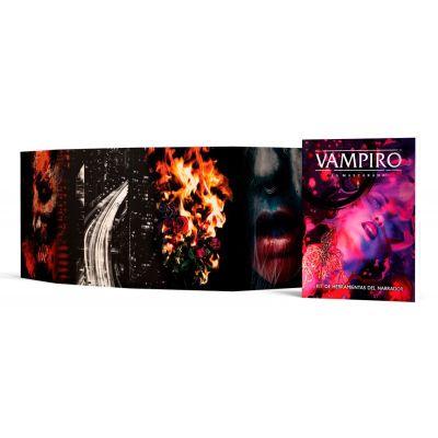 Vampiro: La Mascarada 5ª Edición - Pantalla del Narrador