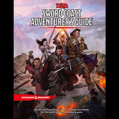D&D 5th Ed. Sword Coast - Adventurer's Guide