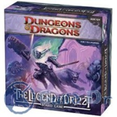 D&D The Legend of Drizzt - Board Game