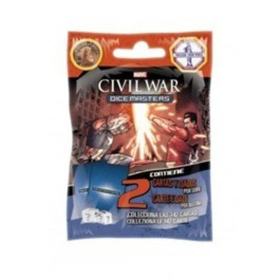Dice Masters Marvel Civil War - Booster