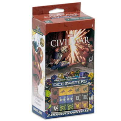 Dice Masters Marvel Civil War - Starter Set