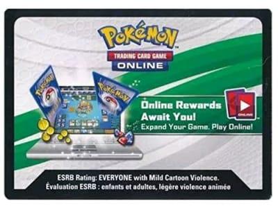 Códigos Pokémon Online TCGO