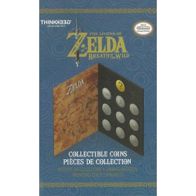 Zelda Breath of The Wild - Monedas Coleccionables