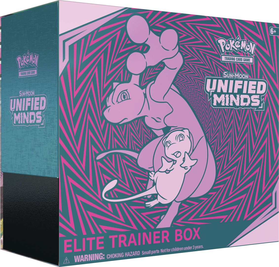 Sun & Moon Unified Minds - Elite Trainer