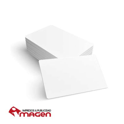TARJETA PVC  BLANCA1