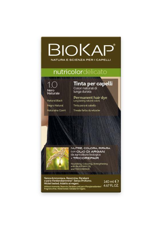 1.00 Delicato Natural Black Gentle Dye - 140 ml