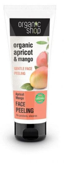 Exfoliante facial Suave Damasco y Mango 75 ml