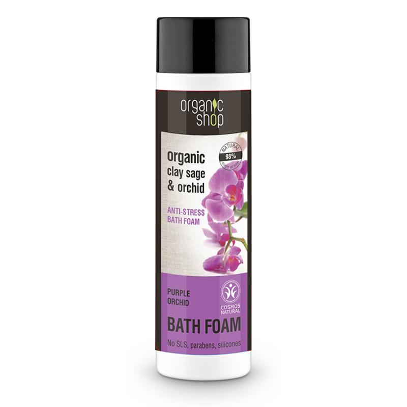 Espuma de Ba¤o Anti Stress Orquidea 500 ml Organic Shop