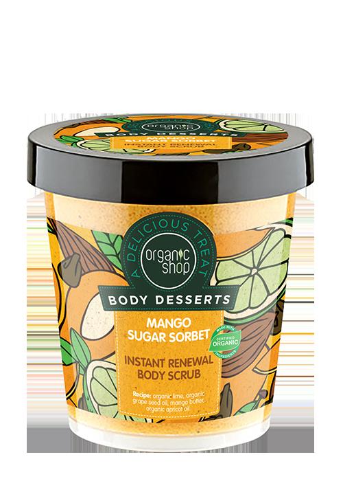 Exfoliante Corporal Mango Body Desserts, 450 ml