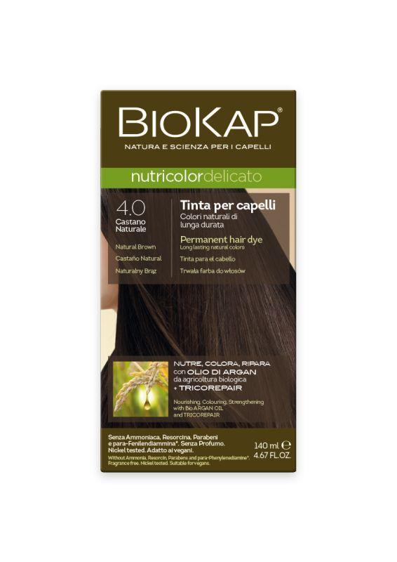 4.00 Delicato Natural Brown Gentle Dye - 140 ml