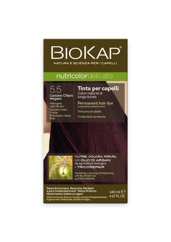 5.5 Delicato castaño claro caoba Gentle Dye- 140 ml