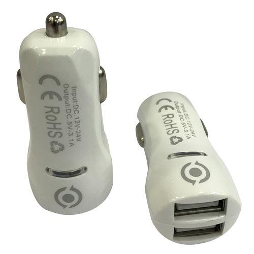 Adaptador Ivon USB para autos CC07