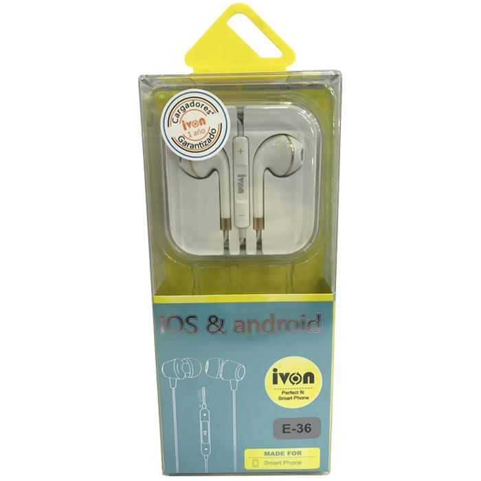 Audífonos Ivon E36