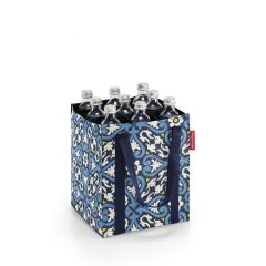 Bolso Botellero - bottlebag floral 1