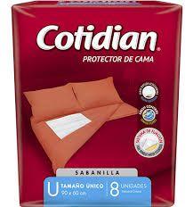 SABANILLA COTIDIAN C/CINTAS 8 UN.
