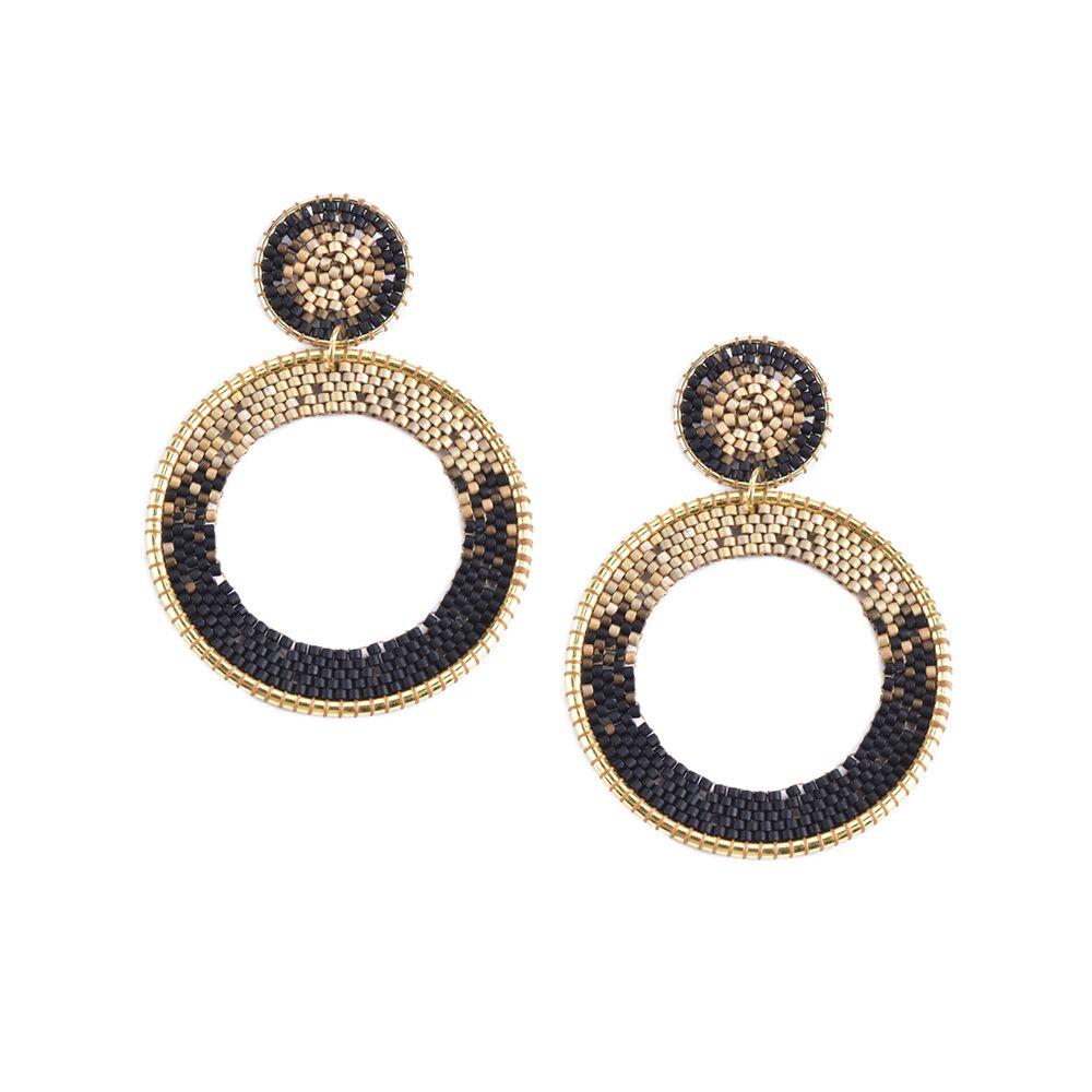 Ellipse Earring-SP-S - Ellipse Earring-SP-S-6816